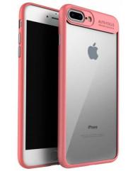 Чохол-накладка Auto Focus iPhone 7 (рожевий)