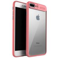 Чехол-накладка Auto Focus iPhone 7 (розовый)
