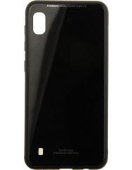 Чехол Glass Case Samsung Galaxy A10 (черный)