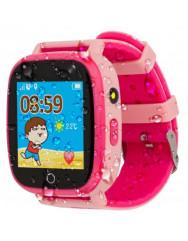 Детские умные часы AmiGo GO001 iP67 (Pink)