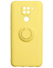 Чехол Ring Color Xiaomi Redmi Note 9 (желтый)