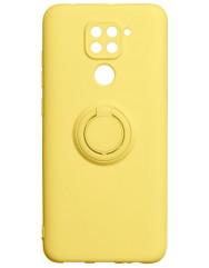 Чохол Ring Color Xiaomi Redmi Note 9 (жовтий)