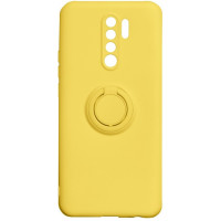 Чехол Ring Color Xiaomi Redmi 9 (желтый)