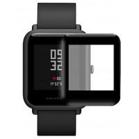 Полимерная пленка для Xiaomi Amazfit S/ Bip/ Bip Lite (5D Black)