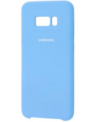 Чехол Silky Samsung Galaxy S8+ (голубой)