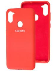 Чехол Silicone Case Samsung Galaxy A11 / M11 (красный)