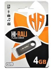 Флешка USB Hi-Rali Shuttle series 4gb (Black)