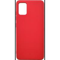 Чехол Silicone Case Lite Samsung Galaxy A51 (красный)