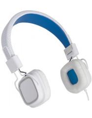 Накладні навушники Gemix Clarcs (White/Blue)