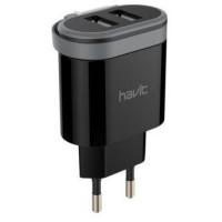 Зарядное устр(блок+шнур). (зарядка) Havit HV-UC8810 Micro