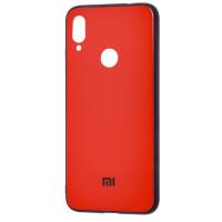 Чехол Glass Case Mi Xiaomi Redmi Note 7 (красный)