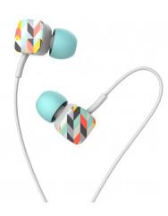 Вакуумні навушники-гарнітура Havit HV-E58P (Blue)