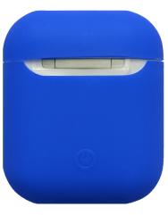 Чохол для Airpods силіконовий (синій)