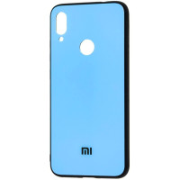 Чехол Glass Case Mi Xiaomi Redmi Note 7 (голубой)