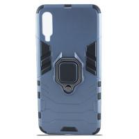 Чехол Armor + подставка Samsung Galaxy A70 (серый)