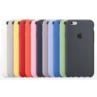 Чехол Silicone Case iPhone 6s (разный цвет)