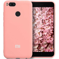 Чехол Silicone Case Xiaomi Redmi A1/5x (розовый)