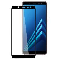 Стекло Samsung Galaxy A6 (3D Black)