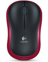 Мышка Logitech M185 (Black/Red)