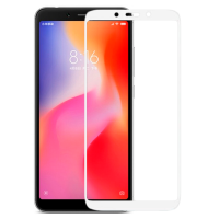 Стекло Xiaomi Redmi 6/6a (5D White) 0.33mm