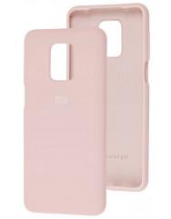 Чехол Silicone Case Xiaomi Redmi Note 9s/9 Pro (бежевый)