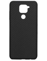 Чехол Premium Carbon Xiaomi Redmi Note 9 (черный)