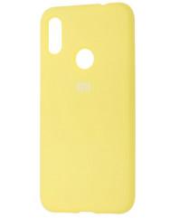 Чехол Silicone Case Xiaomi Redmi 7 (желтый)