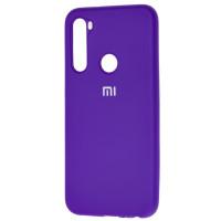 Чехол Silicone Case Xiaomi Redmi Note 8 (фиолетовый)