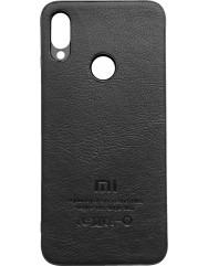 Чохол MI шкіра Xiaomi Redmi Note 7 (чорний)