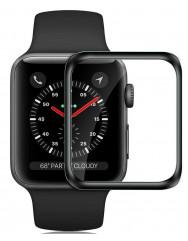 Скло Apple Watch 44mm (5D Black)