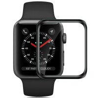 Стекло Apple Watch 44mm (5D Black)