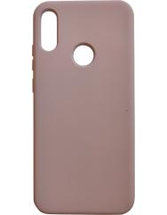 Чехол Silicone Cover Huawei Y6 2019/Honor 8a (бежевый)