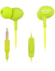 Вакуумные наушники-гарнитура Mizoo G10 (Green)