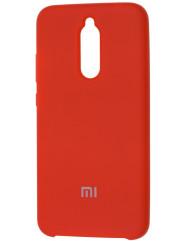 Чехол Silky Xiaomi Redmi 8 (красный)