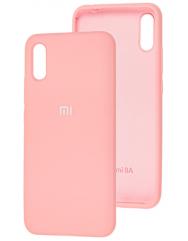 Чехол Silicone Case Xiaomi Redmi 9a (розовый)