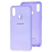 Чехол Silicone Case Samsung A10s (лавандовый)