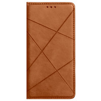 Книга Business Leather Xiaomi Redmi 9 (коричневый)