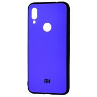 Чехол Glass Case Mi Xiaomi Redmi Note 7 (синий)