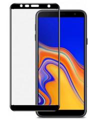 Стекло Samsung Galaxy J4+/J6+ (5D Black) 0.33mm
