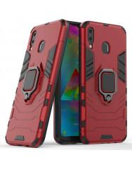 Чохол Armor + підставка Samsung Galaxy M20 (червоний)