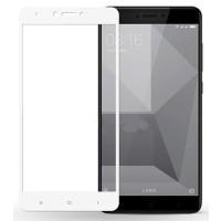 Защитное стекло Xiaomi Redmi Note 4 (5D White) 0.33mm