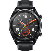 Смарт-часы HUAWEI Watch GT Sport (FTN-B19) (Graphite Black Silicone Strap)