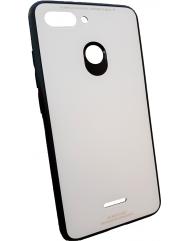 Чохол Glass Case Xiaomi Redmi 6 (білий)