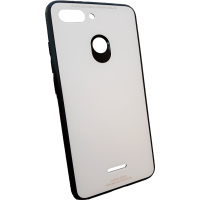 Чехол Glass Case Xiaomi Redmi 6 (белый)