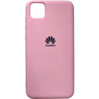 Чехол Silicone Case для Huawei Y5p (розовый)