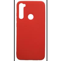 Чехол Soft Touch Xiaomi Redmi Note 8 (красный)