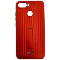 Чехол Luggage с подставкой Xiaomi Redmi 6 (Red)