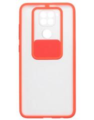 Чохол Totu Curtain Xiaomi Redmi Note 9 (червоний)