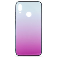 Чехол Glass Case Gradient Xiaomi Redmi Note 7 (Light Pink)
