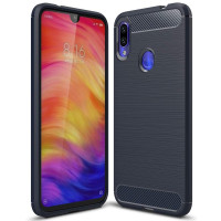 Чехол Carbon Xiaomi Redmi 7 (синий)